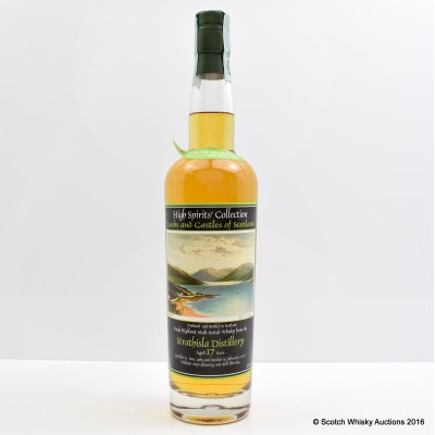 Strathisla 1989 17 Year Old High Spirits' Collection