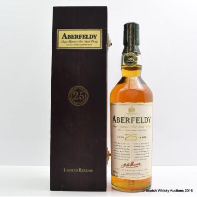 Aberfeldy 25 Year Old
