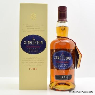 Singleton of Auchroisk 1980 Particular 75cl