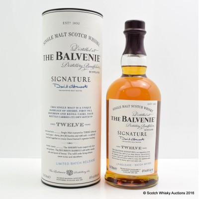 Balvenie Signature 12 Year Old Batch #2