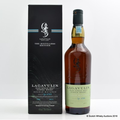 Lagavulin Distillers Edition 1999