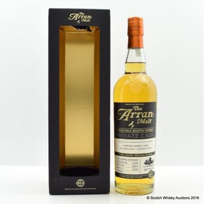 Arran Private Cask for Limburg Whisky Fair 2014