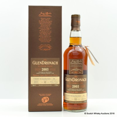 GlenDronach 2003 11 Year Old Single Cask #934