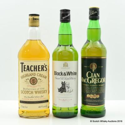 Teacher's Highland Cream, Clan MacGregor & Black & White