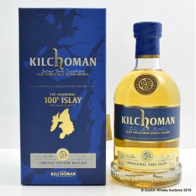 Kilchoman 100% Islay Inaugural Release