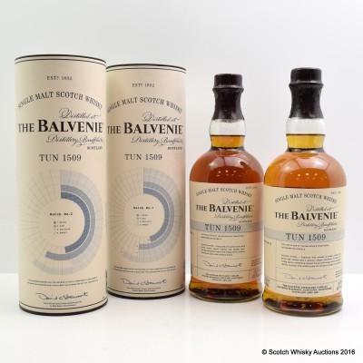 Balvenie Tun 1509 Batch #1 & Balvenie Tun 1509 Batch #2