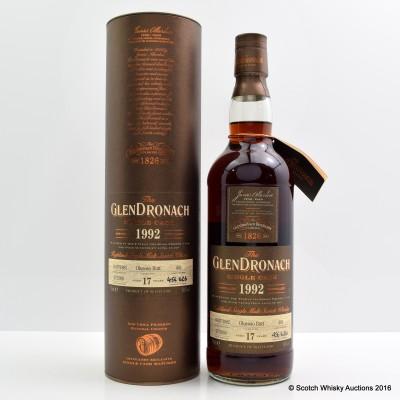 GlenDronach 1992 17 Year Old Single Cask #401