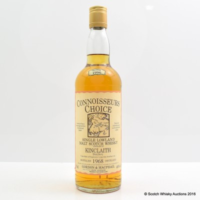 Kinclaith 1968 Connoisseurs Choice