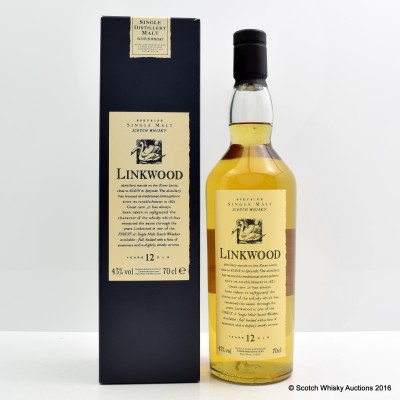 Flora & Fauna Linkwood 12 Year Old