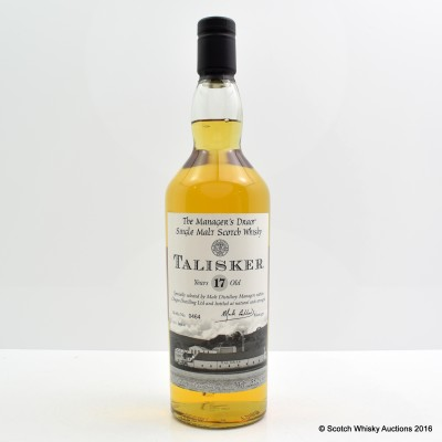 Manager's Dram Talisker 17 Year Old