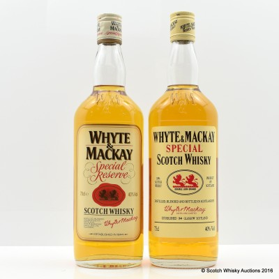 Whyte & Mackay Special Reserve 70cl & 75cl