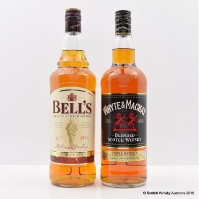 Whyte & Mackay Triple Matured 1L & Bell's Original 1L