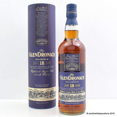 GlenDronach 18 Year Old Allardice Batch #2
