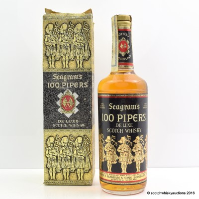 Seagram's 100 Pipers 26 2/3 Fl Oz