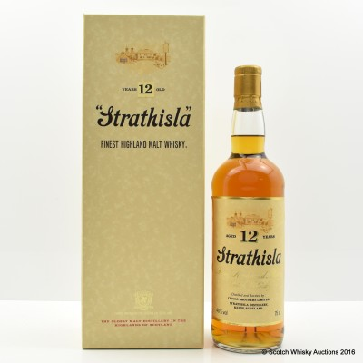 Strathisla 12 Year Old 75cl