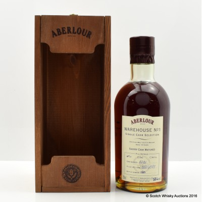 Aberlour 1989 13 Year Old Distillery Only Hand Filled 1st Fill Sherry