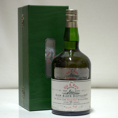 Glen Albyn 35 Year Old Old & Rare