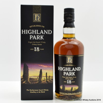 Highland Park 18 Year Old Old Style