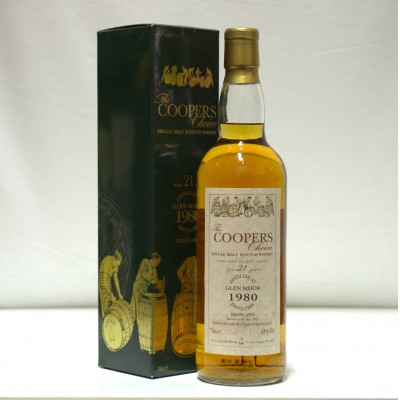 Glen Mhor 1980 21 Year Old The Coopers Choice