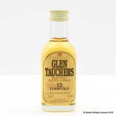 Glentauchers 12 Year Old Mini 4cl