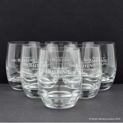 Balvenie Glass Tumblers x 6