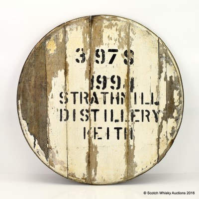 Strathmill 1994 Cask End