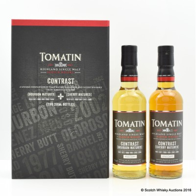 Tomatin Contrast x2 35cl
