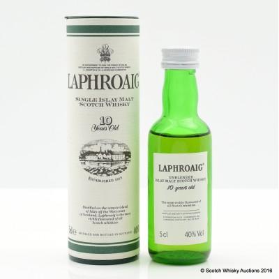 Laphroaig 10 Year Old Mini 5cl