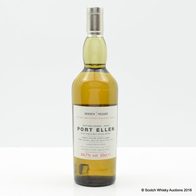 Port Ellen 7th Annual Release 1979 28 Year Old 20cl
