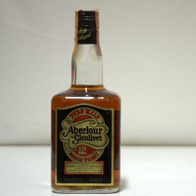 Aberlour Glenlivet 12 Year Old 75 cl Dumpy Bottle