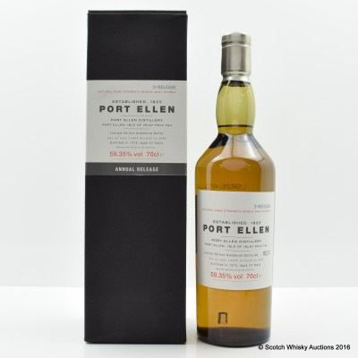 Port Ellen 2nd Annual Release 1978 24 Year Old