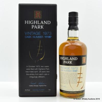 Highland Park 1973 28 Year Old Cask #11167