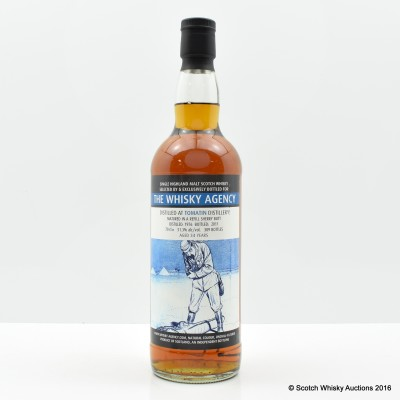 Tomatin 1976 34 Year Old The Whisky Agency