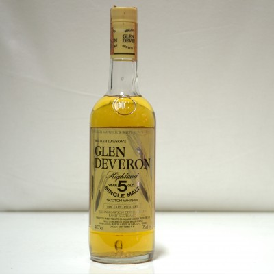 Glen Deveron 5 Year Old William Lawson 75 cl