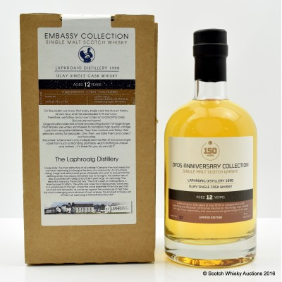 Laphroaig 1998 12 Year Old DFDS 150th Anniversary