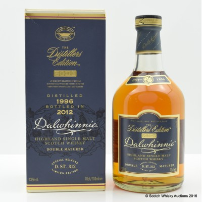 Dalwhinnie 1996 Distillers Edition
