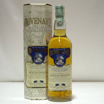 Macallan 12 Year Old Provenance