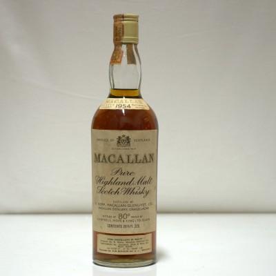 Macallan 1954 80%  Proof 26 2/3 Fl Oz