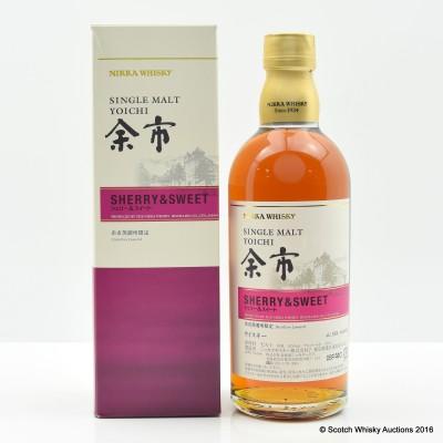 Nikka Yoichi Sherry & Sweet Distillery Exclusive 50cl