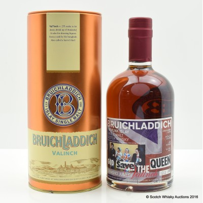 Bruichladdich Valinch God Save The Queen 50cl