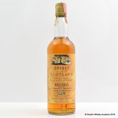 Ardbeg 1974 Spirit Of Scotland