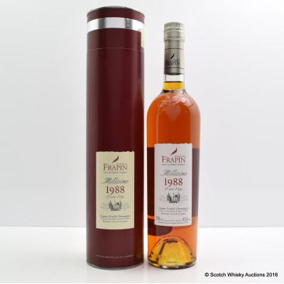 Frapin 1988 25 Year Old Cognac 75cl