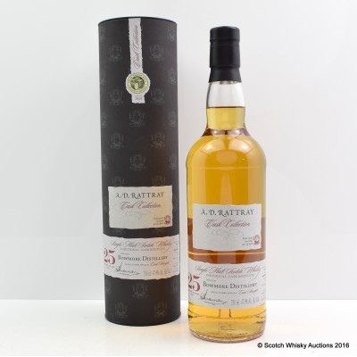 Bowmore 1987 25 Year Old A.D. Rattray 75cl