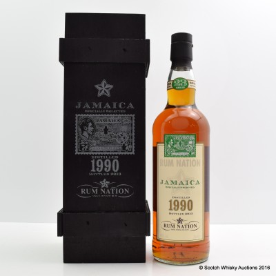 Rum Nation 1990 23 Year Old Jamaica Specially Selected Rum