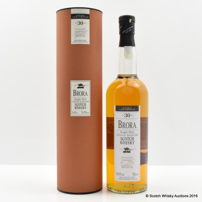 Brora 30 Year Old 2004 Release