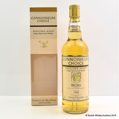 Brora 1982 Connoissuers Choice