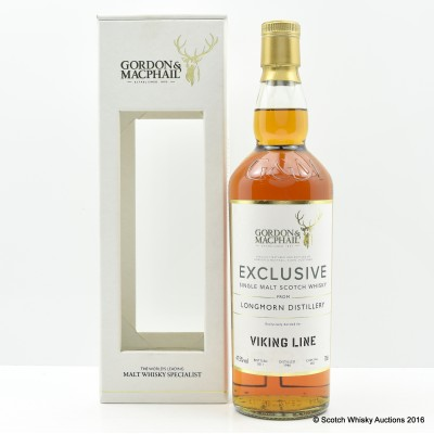 Longmorn 1966 Gordon & MacPhail Exclusive for Viking Line
