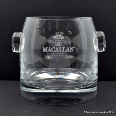 Macallan Glass Ice Bucket