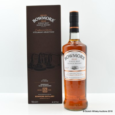 Bowmore 1998 17 Year Old Stillmen's Craftman's Selection