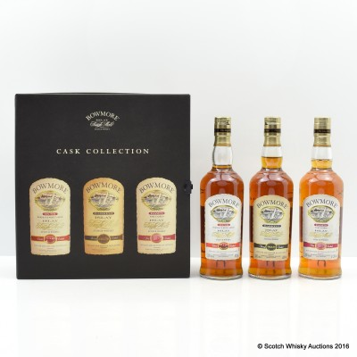 Bowmore Cask Collection x 20cl